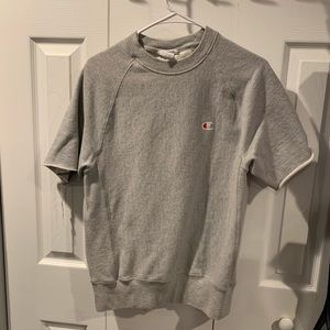 Champion Reverse Weave Short Sleeve Sweatshirt